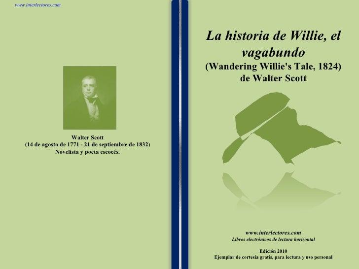La historia de willie el vagabundo de walter scott
