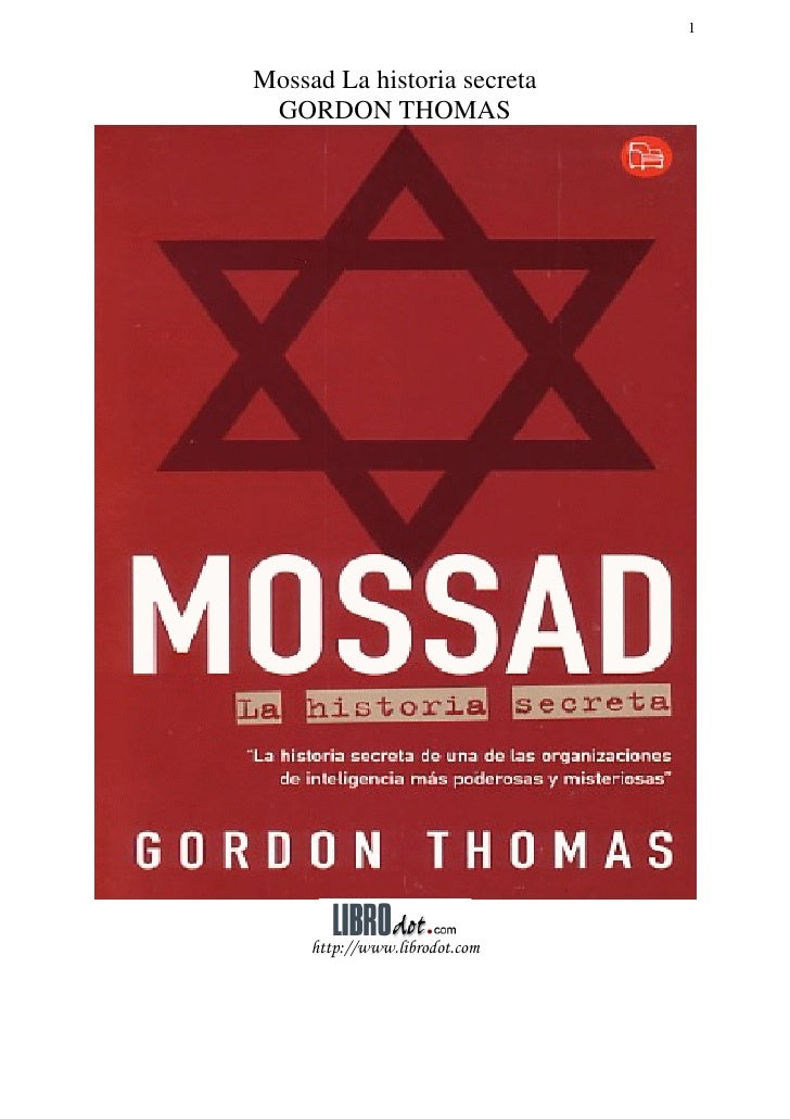 La historia secreta del mossad