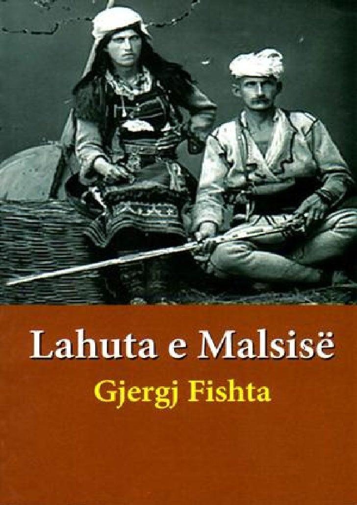 LAHUTA E MALCIS - nga At Gjergj FISHTA