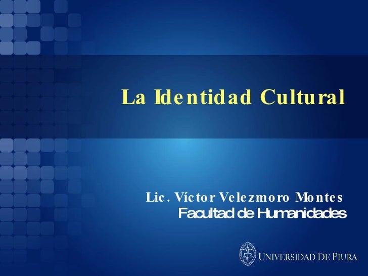 La identidad cultural exposición