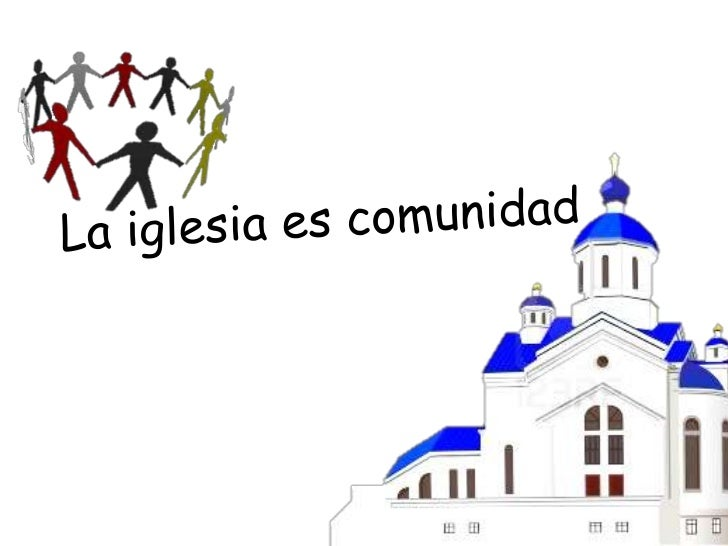 comunidad cristiana fe: