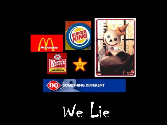 We Lie