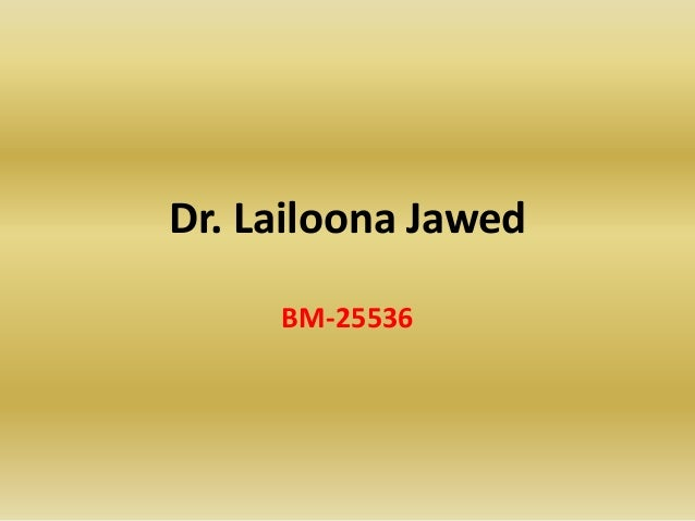 Termination of Agency- By Dr,Lailoona Jawed