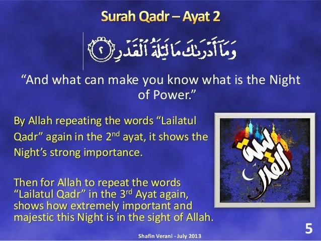 Night of Qadr
