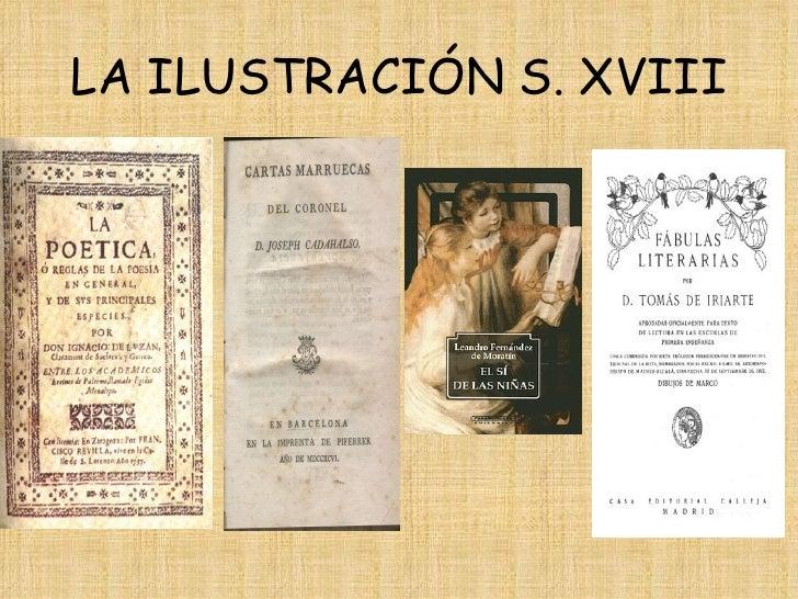 LA ILUSTRACIÓN S. XVIII