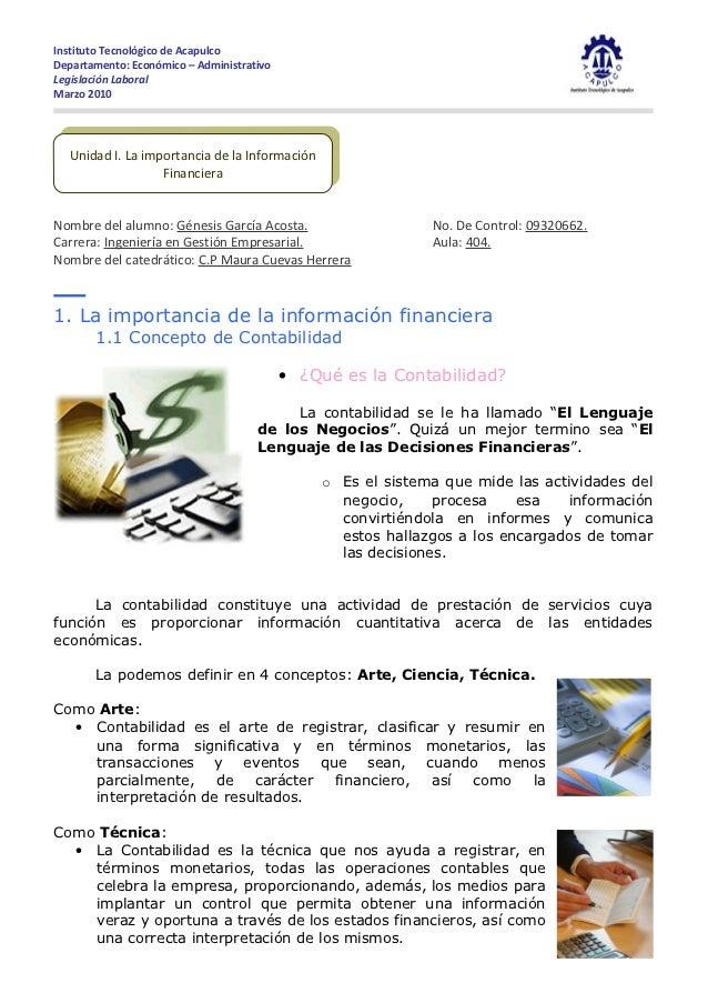 Instituto Tecnológico de AcapulcoDepartamento: Económico – AdministrativoLegislación LaboralMarzo 2010  Unidad I.I. La imp...