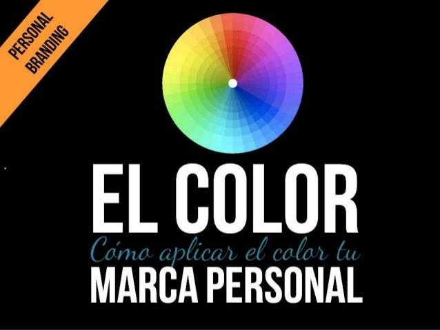 Las marcas más importantes del mundo se definen por sus colores.  Profesora Dra. Esmeralda Díaz-Aroca. Personal Branding. ...