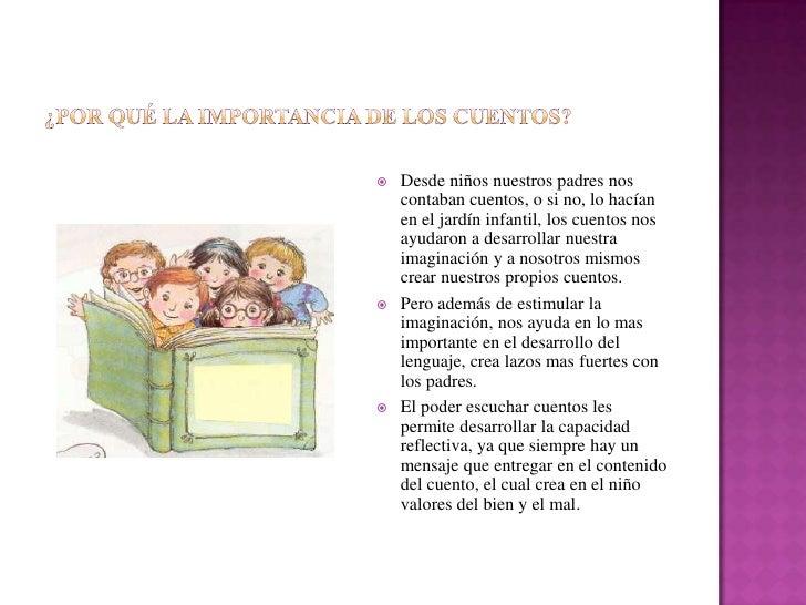 La importancia de los cuentos infantiles for Importancia de los viveros forestales