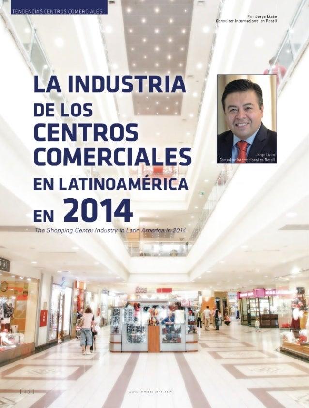 La industria de los centros comerciales en latinoamérica en 2014