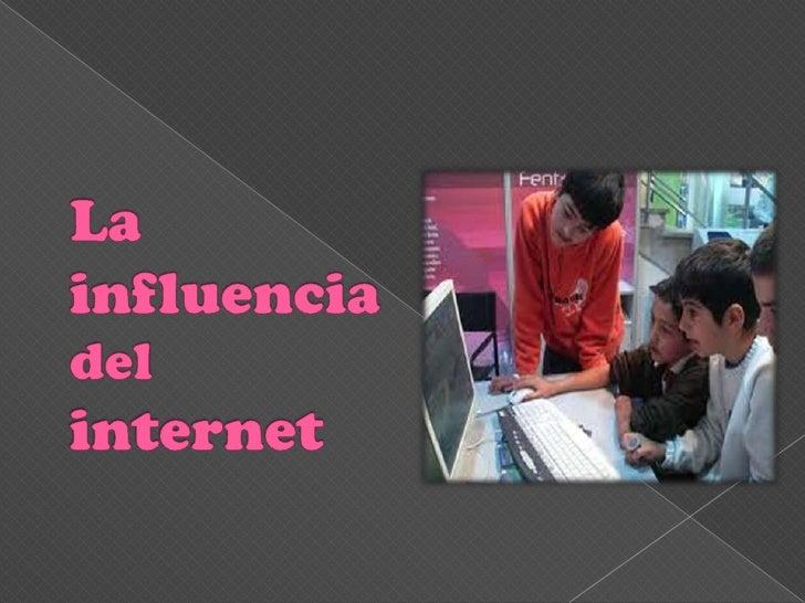 Internet es una de las palabras más nombradas enlos últimos tiempos por quienes se aproximan a latecnología o a la informá...
