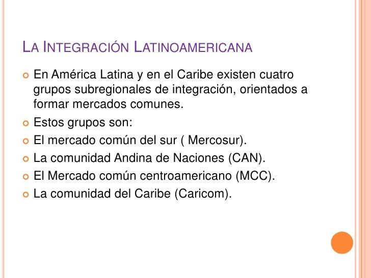 integracin latinoamericana essay Bienvenidos a la pagina de la i semana academica de historia de la universidad federal de la integración latinoamericana latino-americana e através.