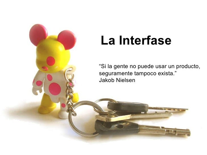 La interfase