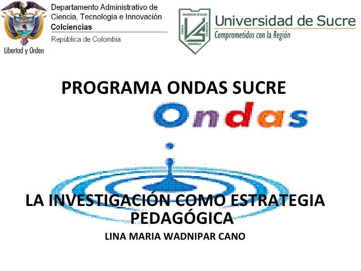 La investigacion como ep lina 10 082010