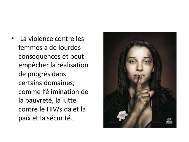 contre la violence de la femme
