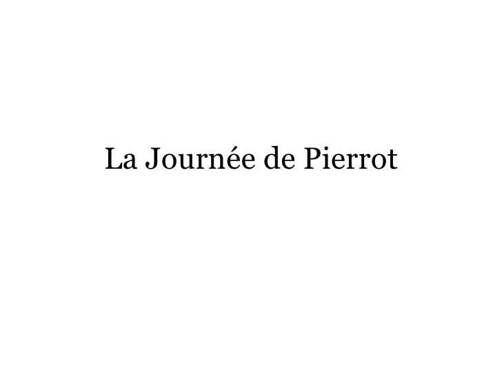 La Journée de Pierrot