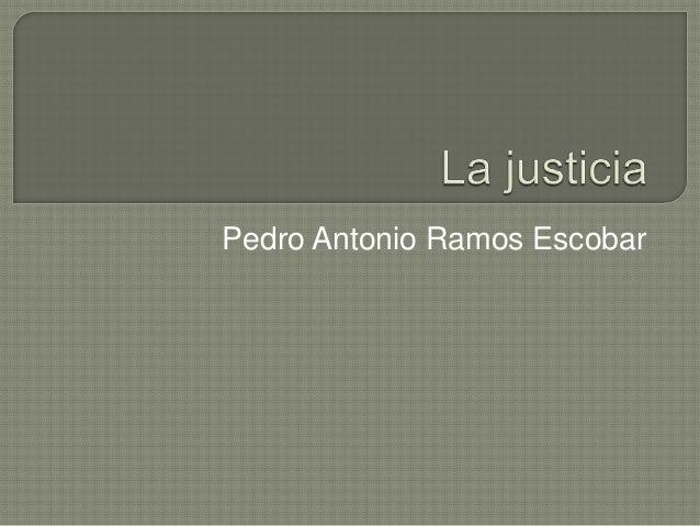 Pedro Antonio Ramos Escobar