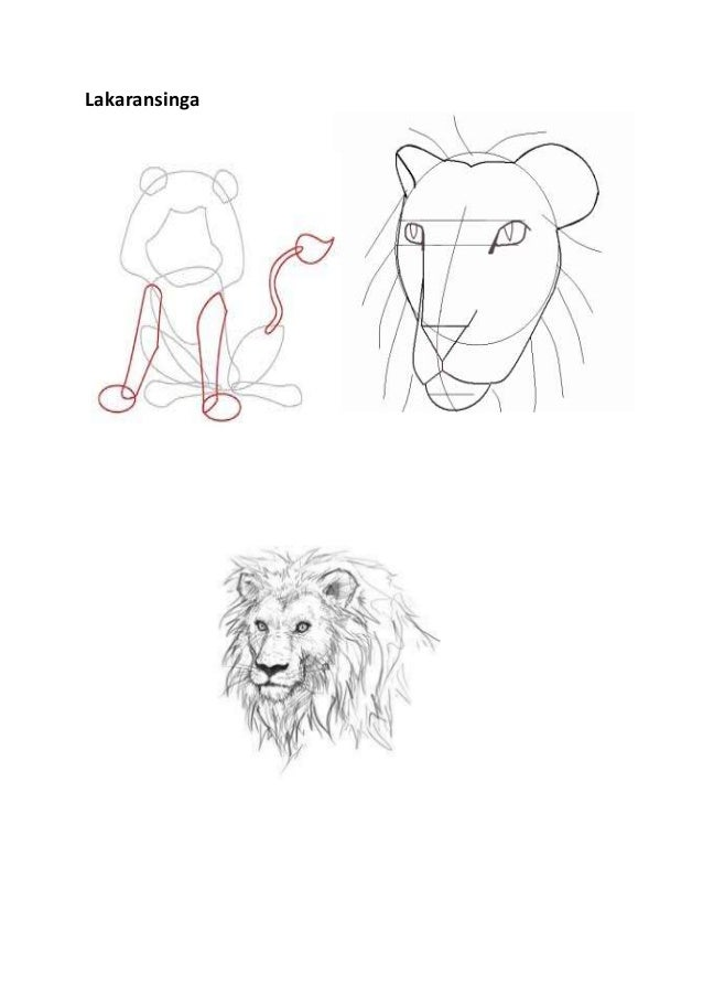 Lakaran singa