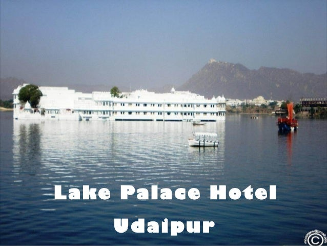 Lake Palace Hotel Udaipur