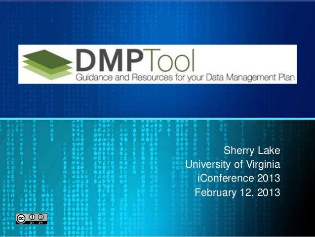 Lake dmp tool_i_conference
