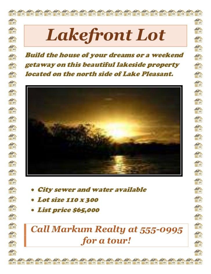 Lakefront lot ( ej guevarra )