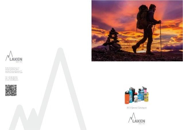 2015 General Catalogue Productos Deportivos S. A. Polígono Industrial Oeste Avenida Principal, Manzana 25 30169 San Ginés ...