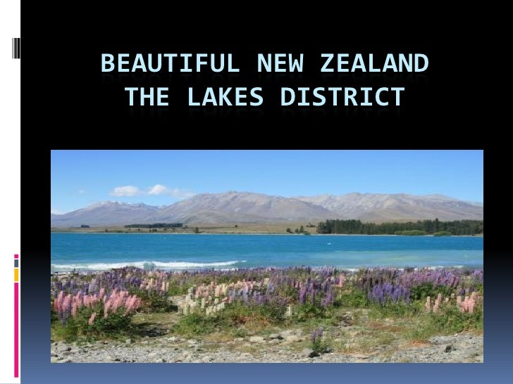 Lake of new zealand