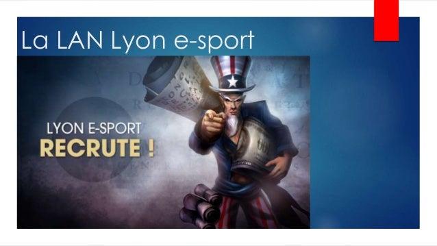 La LAN Lyon e-sport