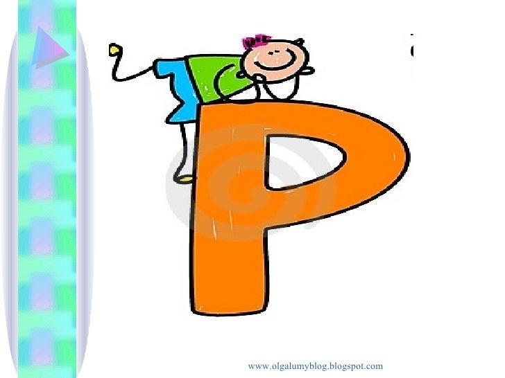 La letra P p