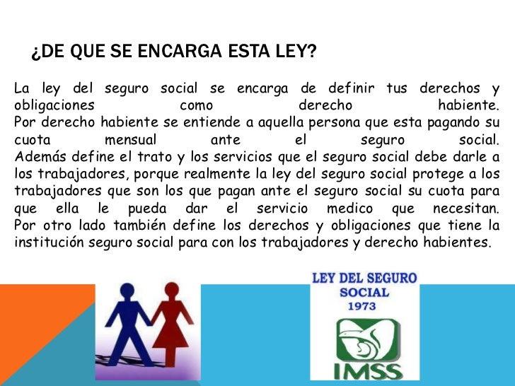 ... Social Numero De Seguro Social Ley Del Imss Y   Share The View Image