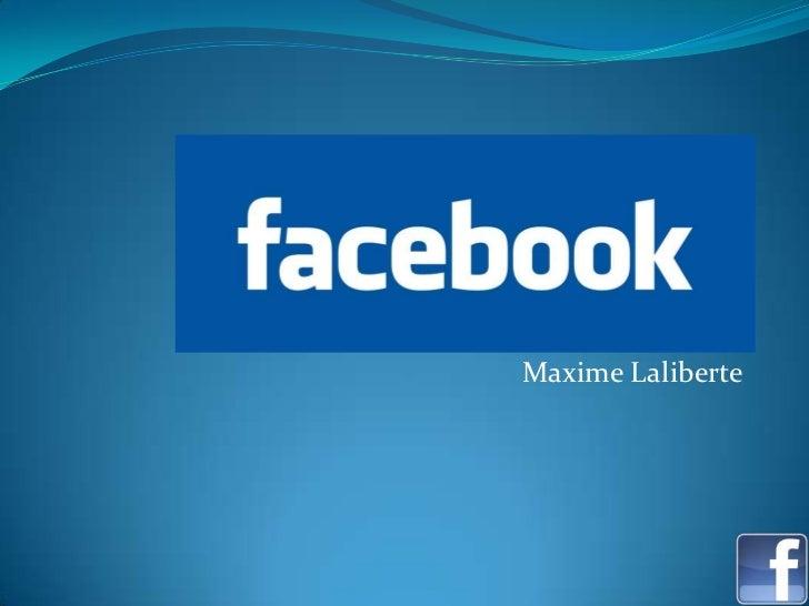 Laliberte maxime facebook