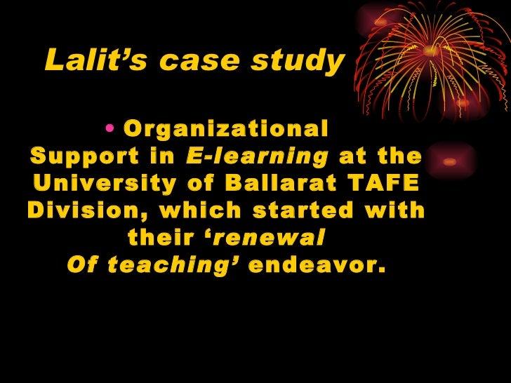Lalit's case study