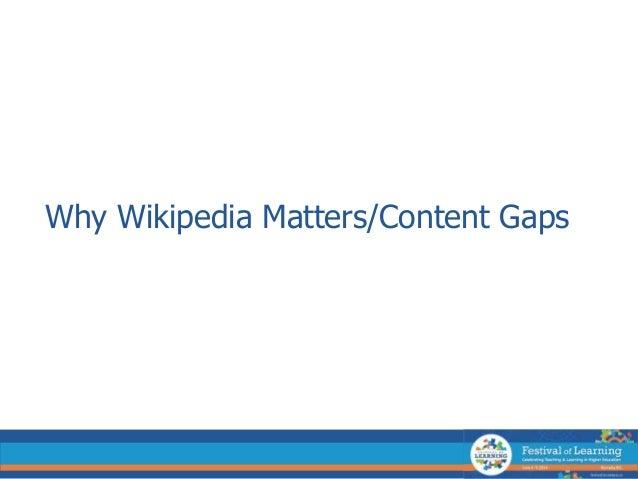 Writing a wikipedia article