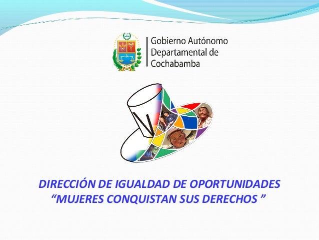 Mujeres conquistan sus derechos_ Sabina Orellana