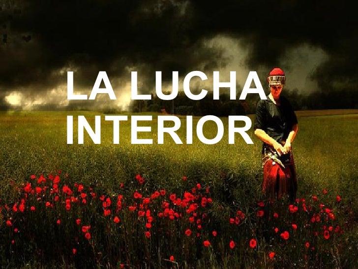 ©PPS TOC® Tenacidad y esfuerzo LA LUCHA INTERIOR