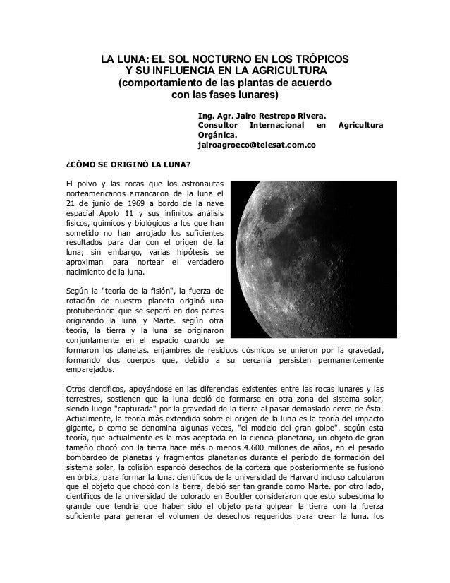 La luna y la agricultura (restrepo)