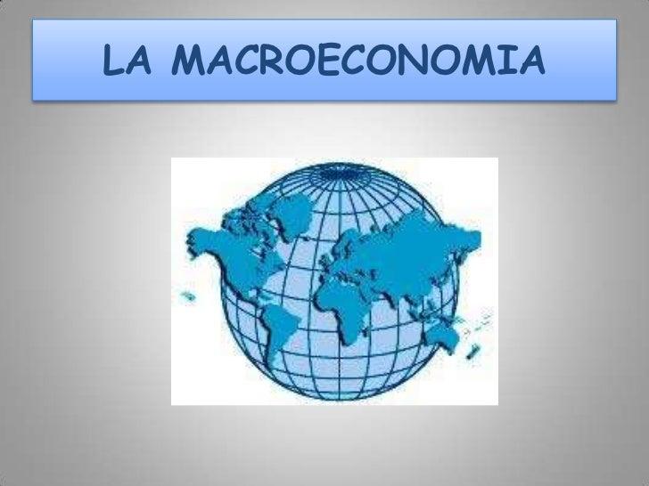 La macroeconomia