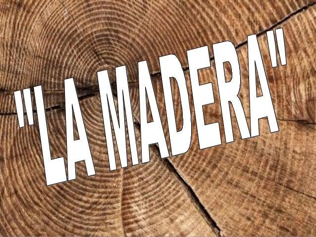 PROCESO DE OBTENCIÓN DE LA MADERA   Tala: Consiste en cortar el tronco del árbol y abatirlo. Antes se deben escoger los á...