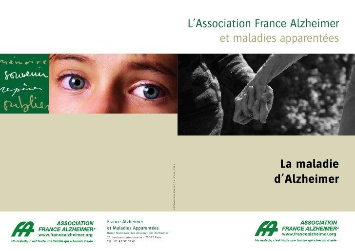 L'Association France Alzheimer                                                                                            ...