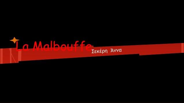 La Malbouffe