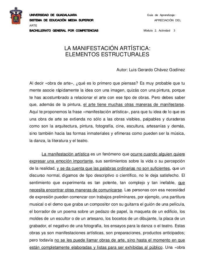 UNIVERSIDAD DE GUADALAJARA                                      Guía de Aprendizaje: SISTEMA DE EDUCACIÓN MEDIA SUPERIOR  ...