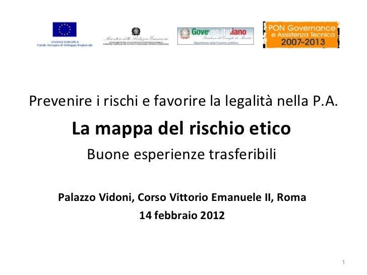 Analisi del rischio nei processi di accreditamento delle strutture sanitarie nella Regione Sicilia