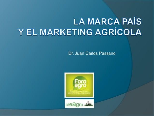 Dr. Juan Carlos Passano