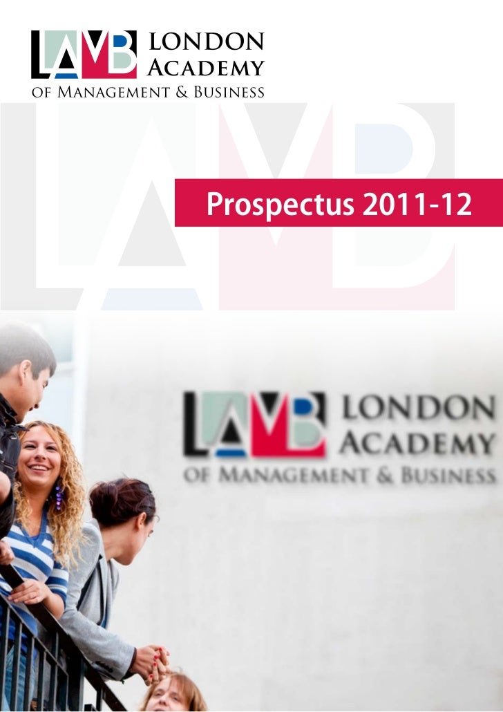 Prospectus 2011-12