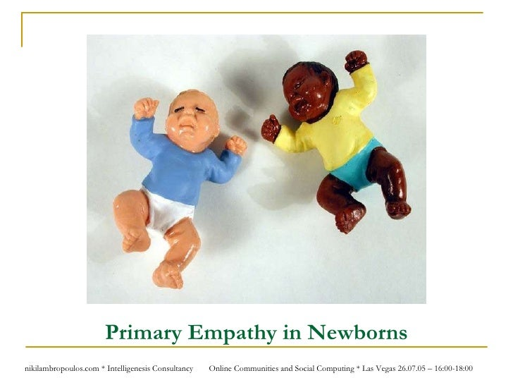 Primary Empathy in Newborns