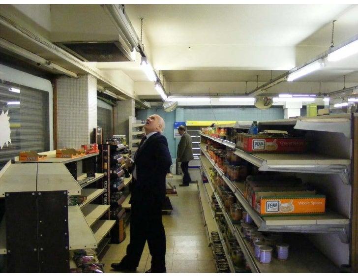 Images of empty supermarket - 5 11 09