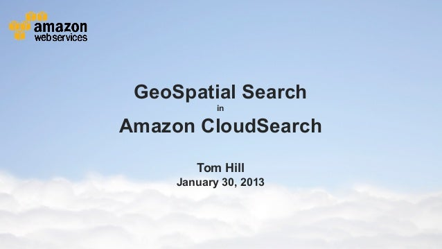 GeoSpatial Search                                                                                     in                  ...