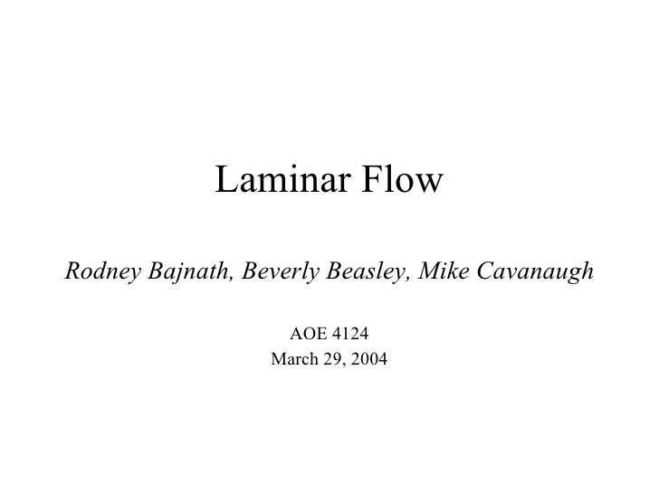 Laminarflow