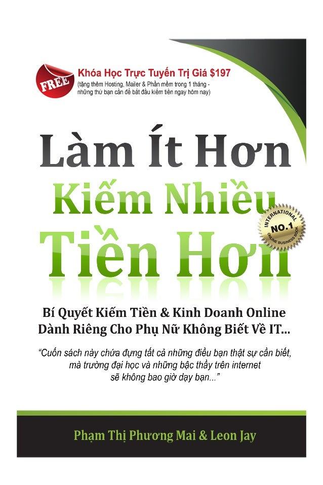 Lam it hon kiem nhieu tien hon 5 chuong dau