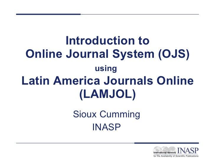 L A M J O L Presentation