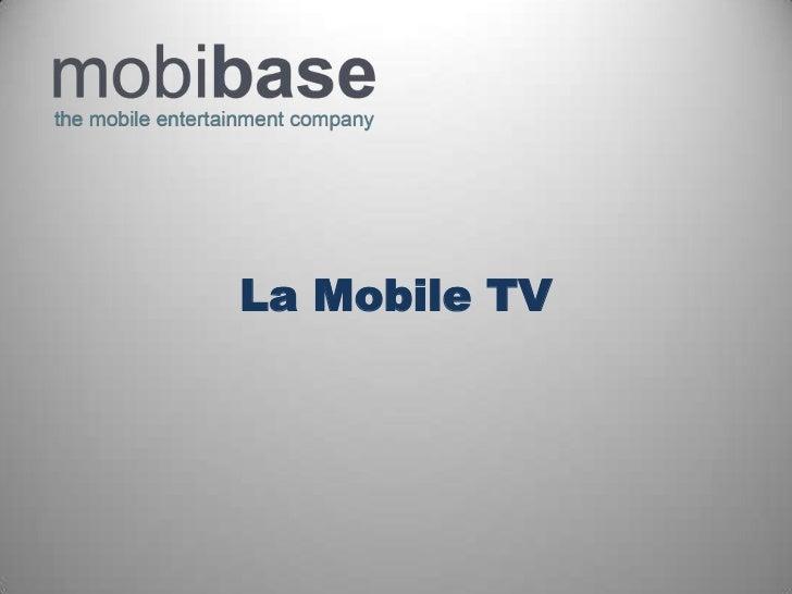La Mobile TV